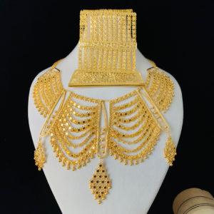 Altın Kaplama Gümüş Urfa Akıtması Set